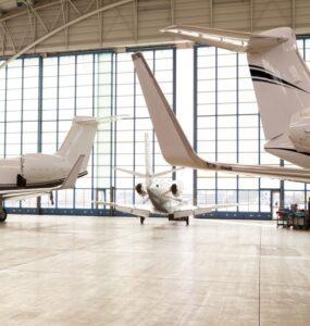 Hangar parking